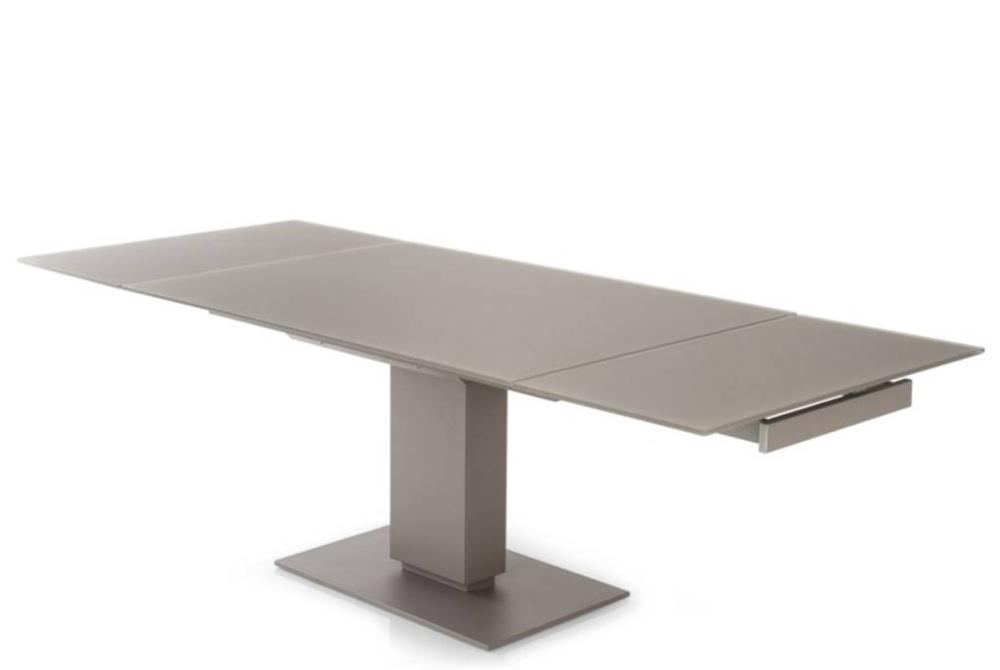 Dining Tables Furniture Echo Glass Extension Table