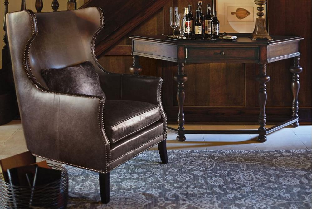 Bernhardt kingston wing armchair  Bernhardt March 2015