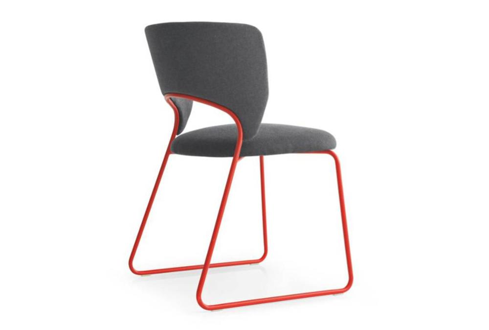 Calligaris duffy dining chair red angle  Calligaris product shots   Match, Duffy