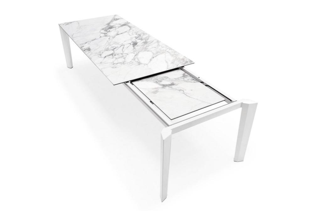 Calligaris Delta Marble Extension  Delta Dining Table  Marble Top Extension