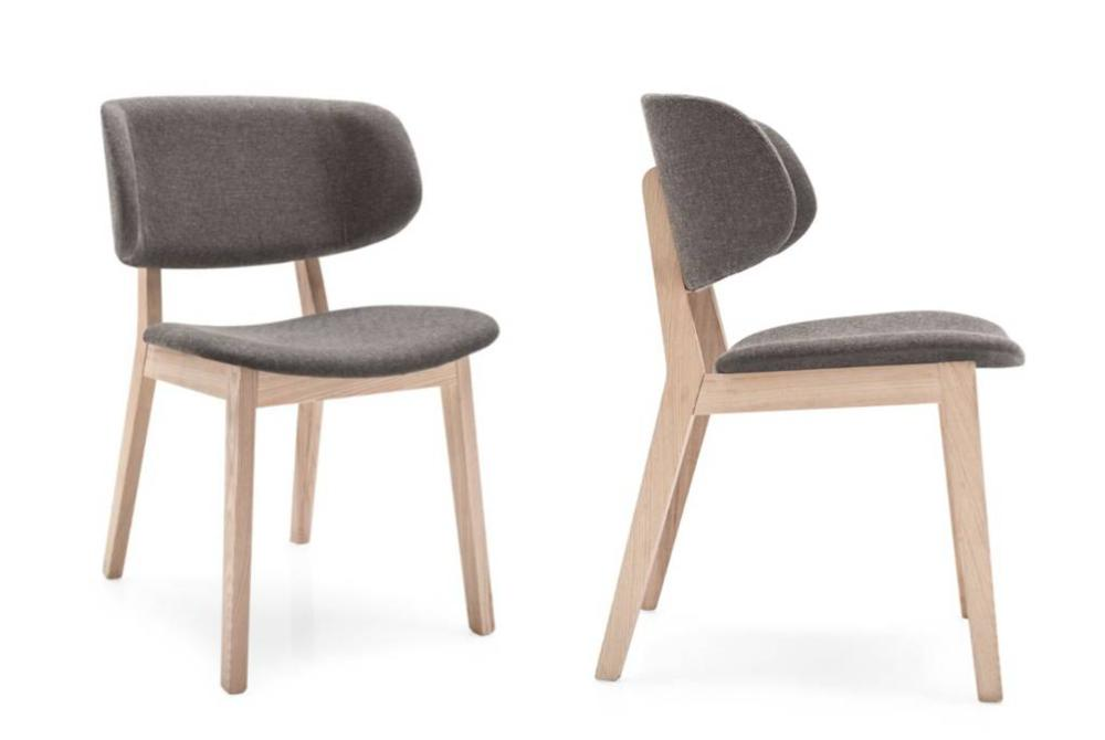 Calligaris claire dining chairs angle side  Calligaris Claire dining chair