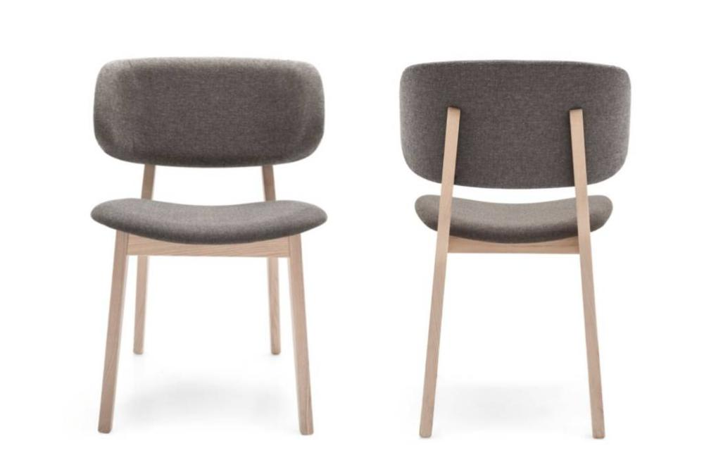 Calligaris claire dining chairs front back  Calligaris Claire dining chair
