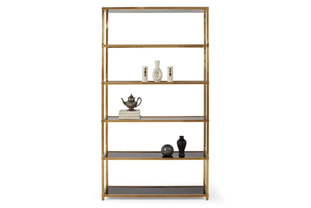 Bernhardt Benton Etagere Gold  Bernhardt New Product July 2016