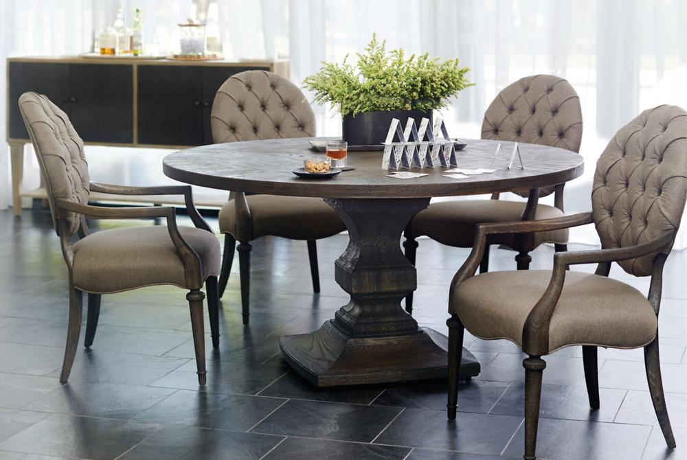 Bernhardt Setting Antiquarian Table Chairs  Bernhardt New Product February 2016