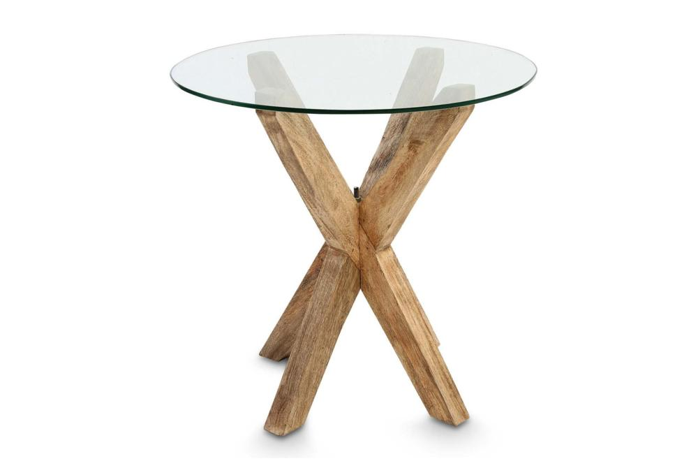 Glass Bedside Table : Tables & Chests  Furniture  Glass Top Side Table. Buy Bedside Tables ...